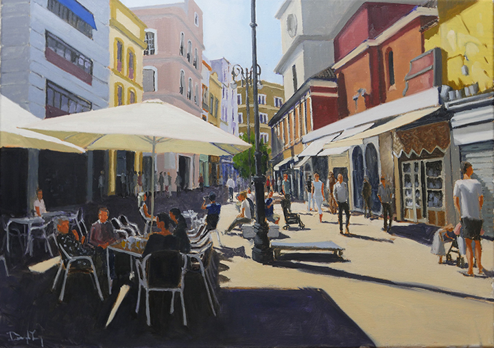 Seville 2, Oil on Canvas, 80cm x 50cm, SOLD