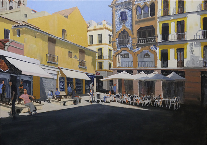 Seville, Oil on Canvas, 80cm x 50cm, €1100